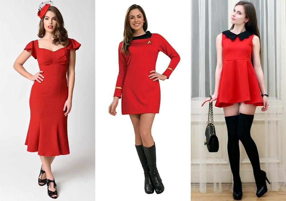 d7df9da5d7f Чёрная обувь и красное платье. Кружевное ...