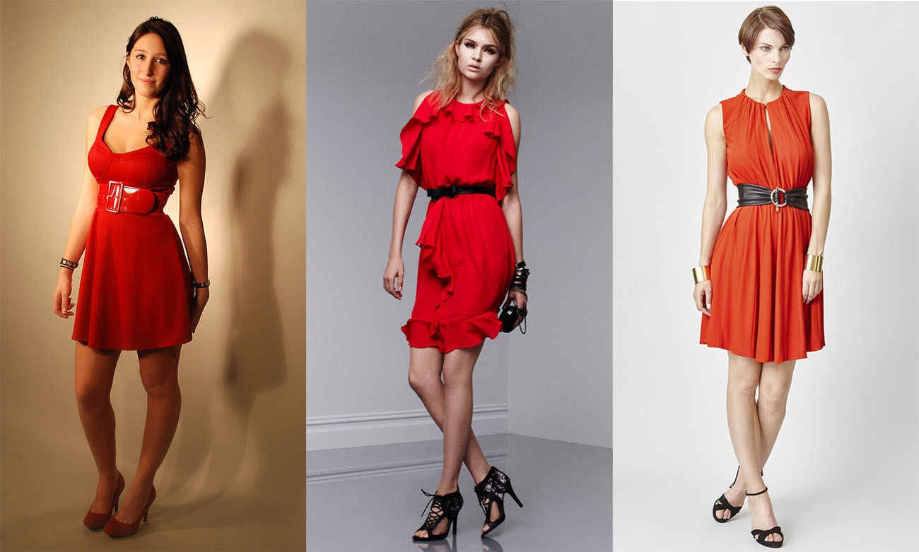 83c65a98a1d С чем носить красное платье