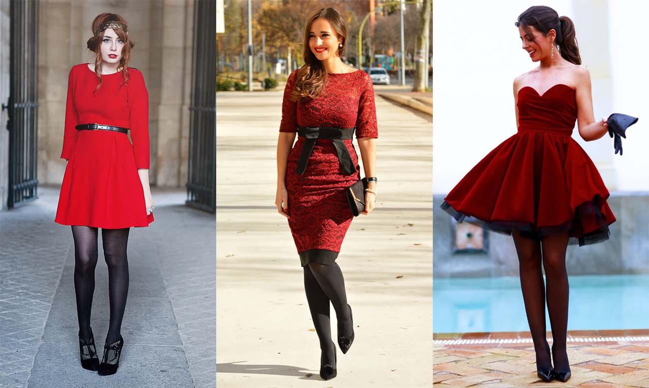 08c1f83922c С чем носить красное платье