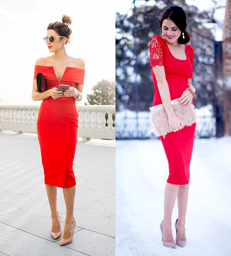 81a136db3e3 Туфли-лодочки с красным платьем