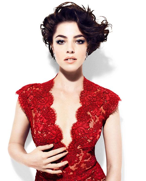 Make-up под красное платье