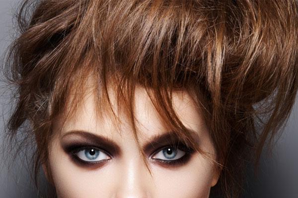 Выразительные глаза с помощью макияжа