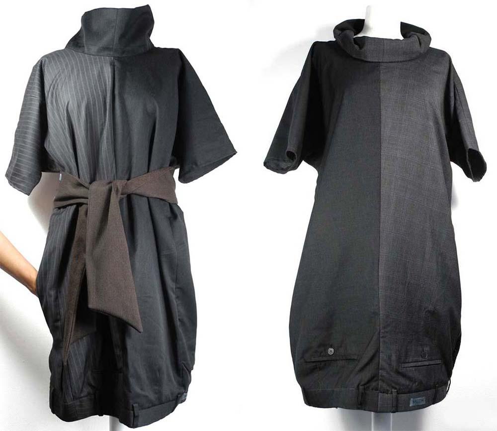 Платье из брюк фото 4