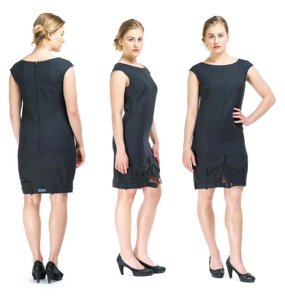 Платье из брюк фото 3