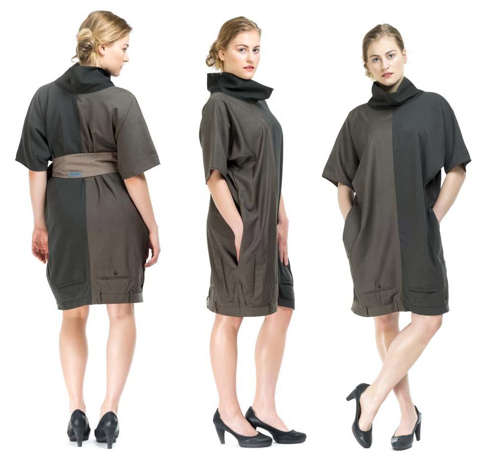 Платье из брюк фото 5