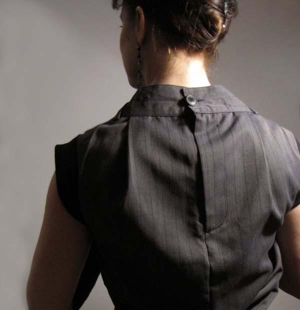 Платье из брюк фото 1