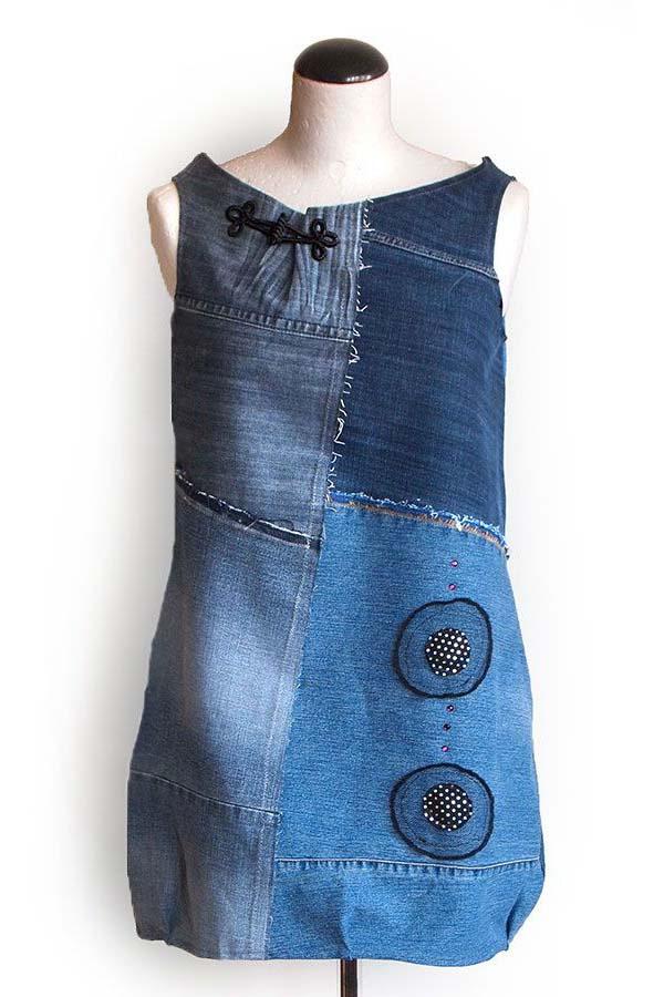 Платье из джинсов фото 12