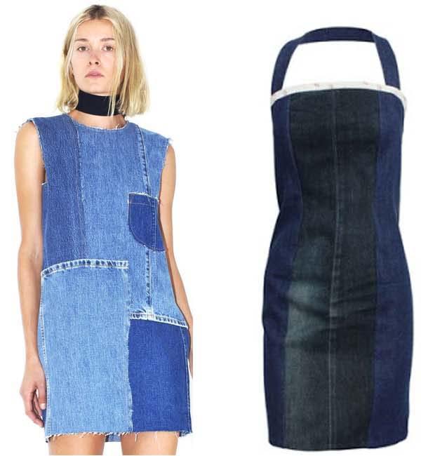 Платье из джинсов фото 13