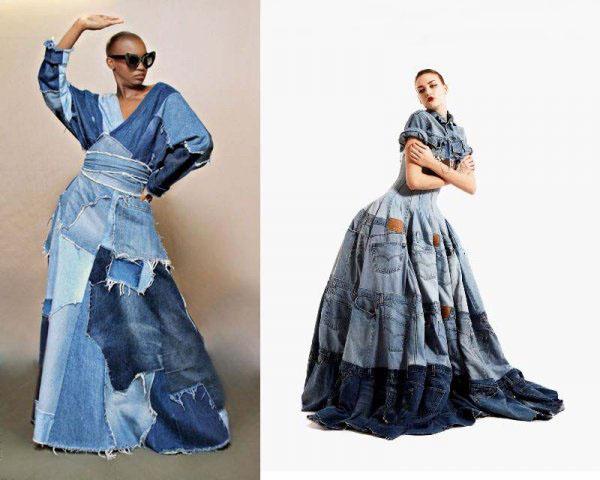 Платье из джинсов фото 14