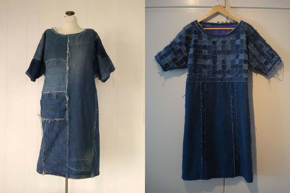Платье из джинсов фото 1