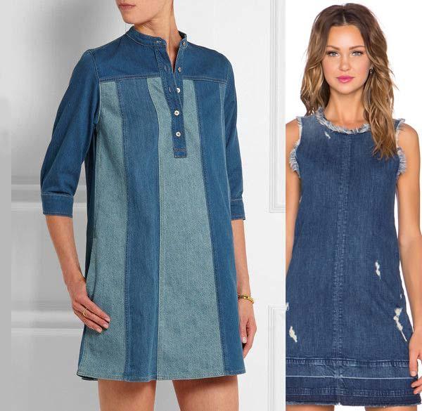 Платье из джинсов фото 11