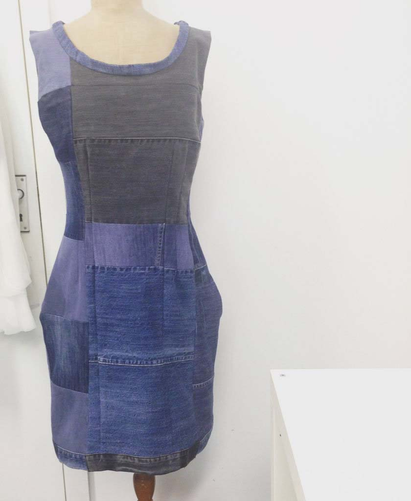 Платье из джинсов фото 3