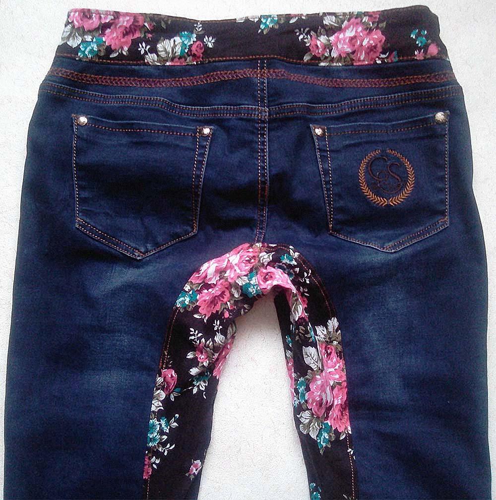 Как сделать джинсы протертые между ног