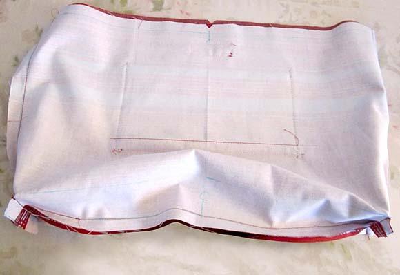 Готовая подкладка для сумки