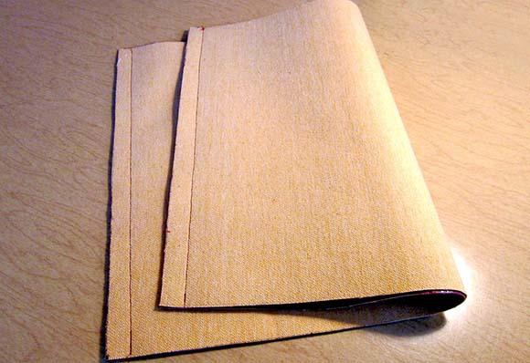 Сшивание полотна сумки