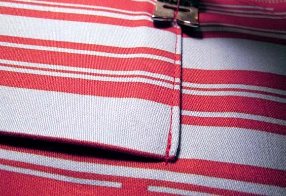 Пришиваем внутренний карман сумки