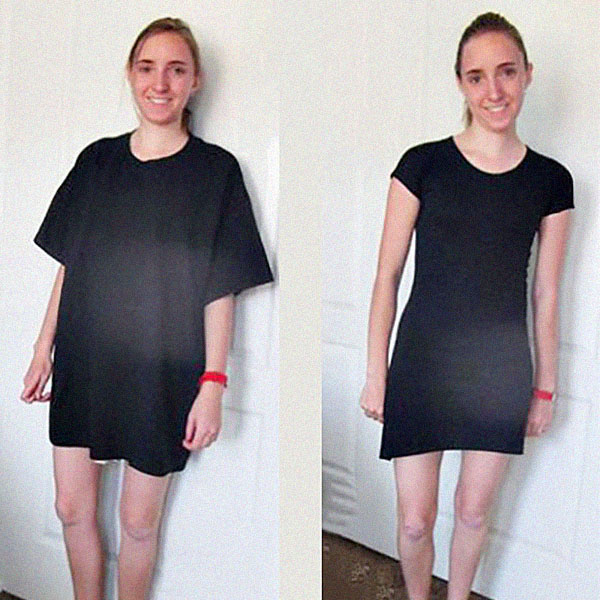 e0cdfbc5548 Как сделать платье из футболки