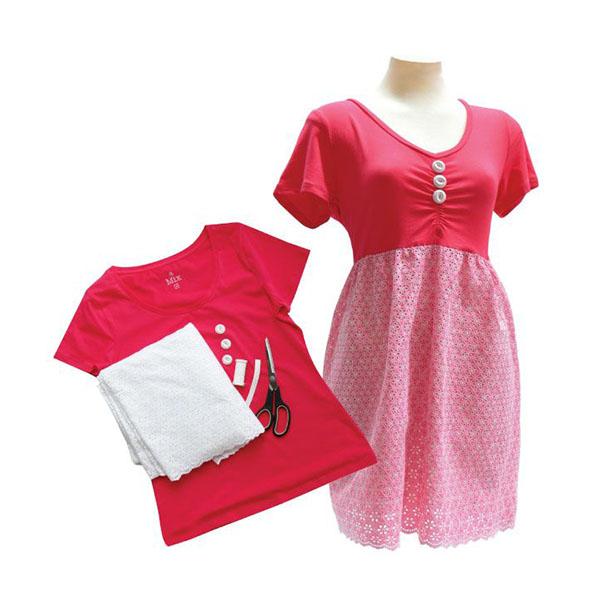 Женское платье из майки