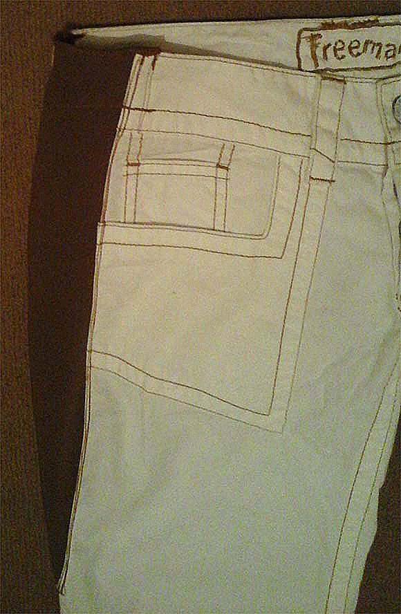 Как перешить из брюк большого размера