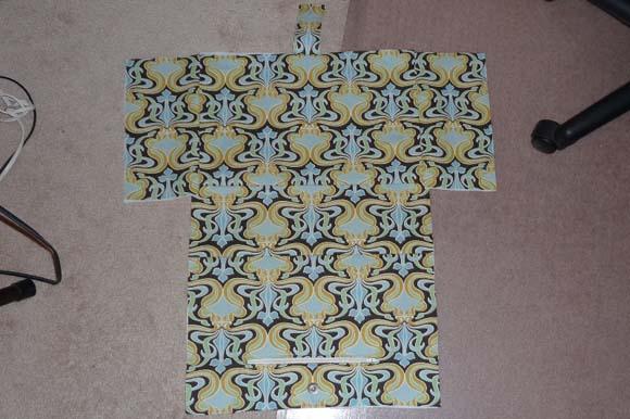 Пошив сумки из ткани: сшивание деталей шаг 4