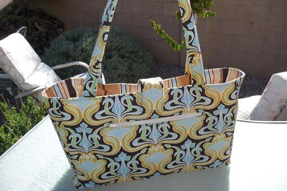 Стильная сумка с орнаментом своими руками