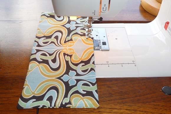 Пошив сумки из ткани: клапан кармана