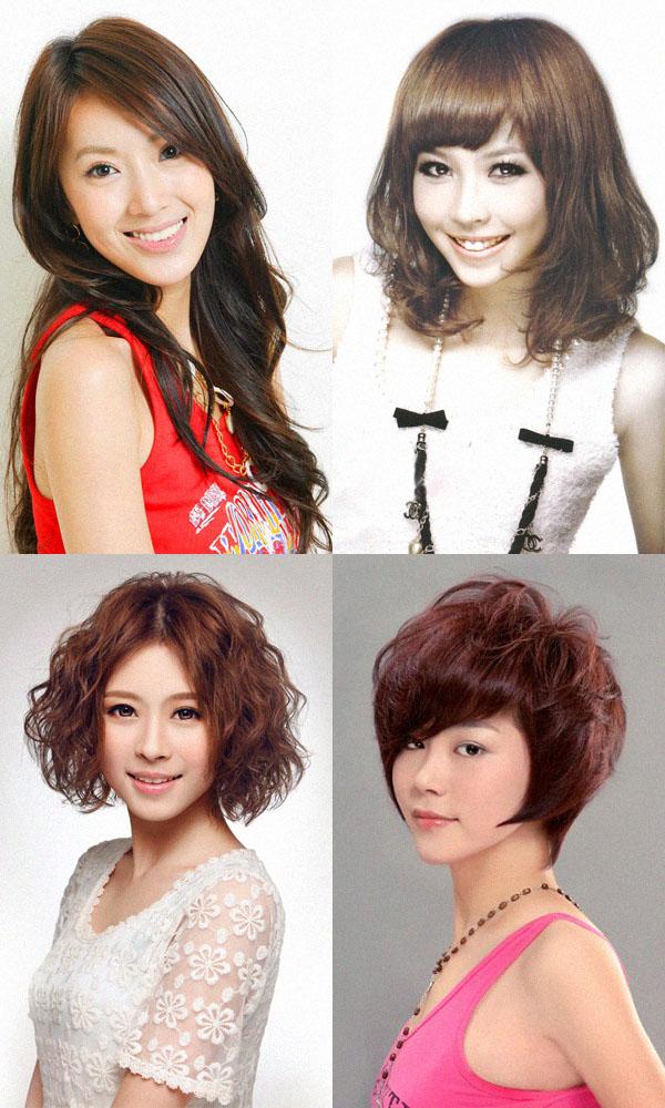 Кудри на волосах разной длины