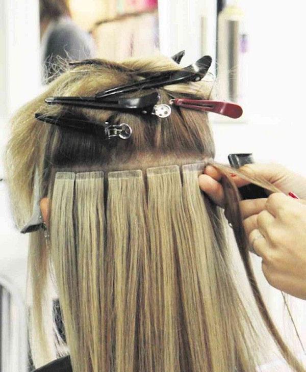 Немецкая технология наращивания волос