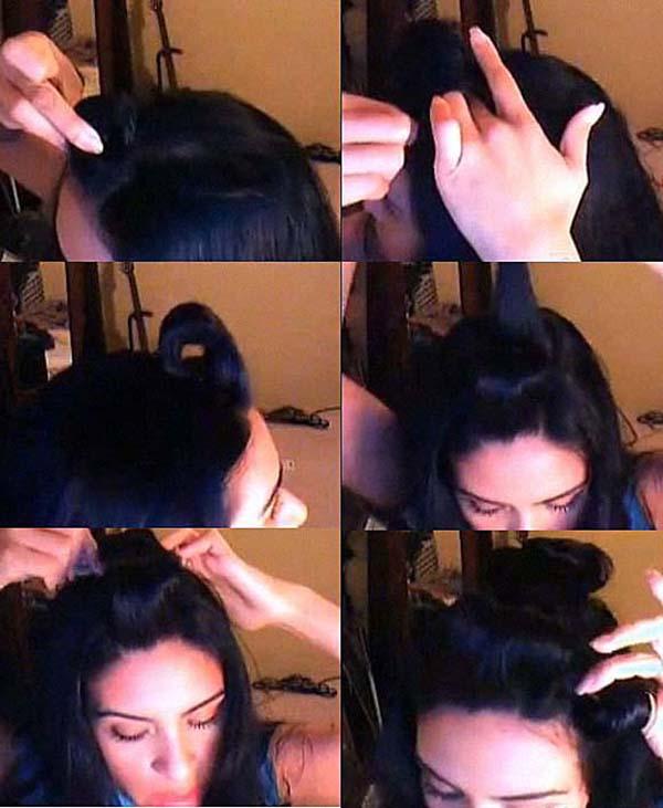 Кудри с помощью шпилек для волос: фото 1