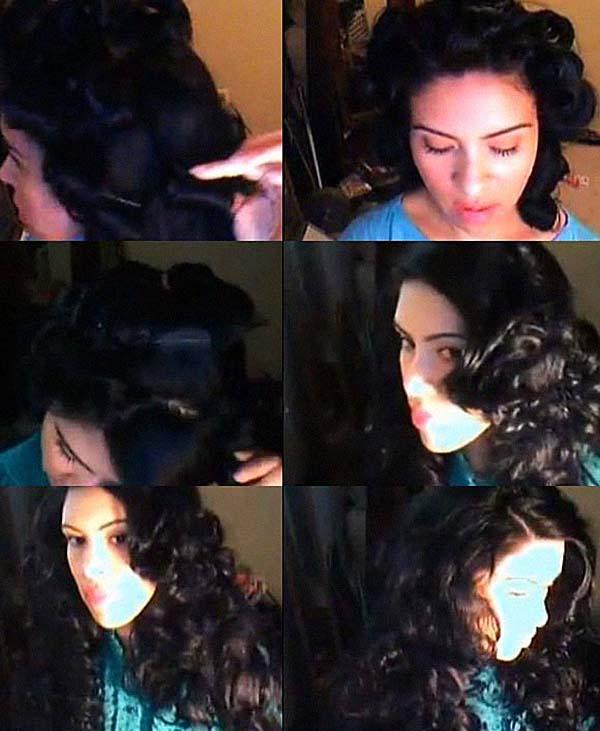 Кудри с помощью шпилек для волос: фото 2