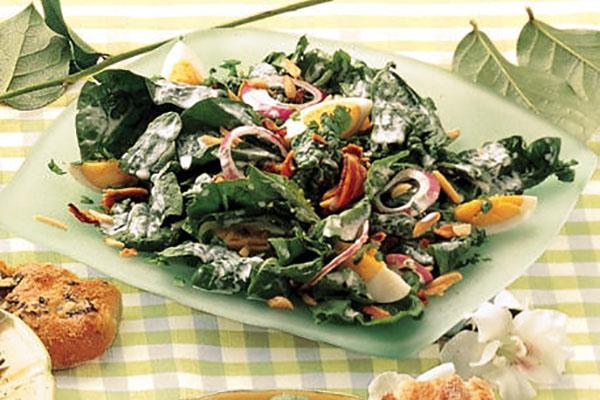 Рапунцель-салат с сырным соусом – кулинарный рецепт