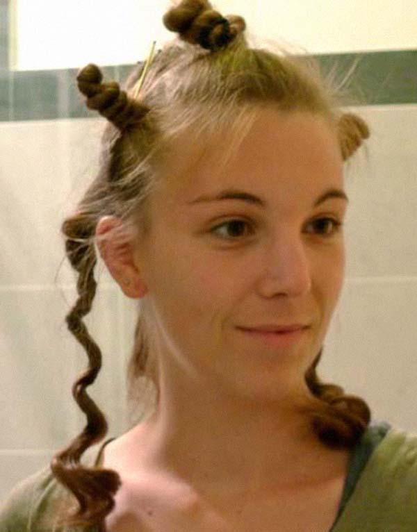 Кудри с помощью закручивания волос: фото 1